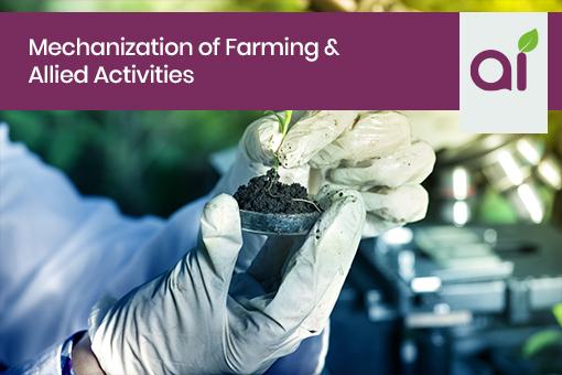 1 Mechanization Of Farming &Amp; Allied Activities