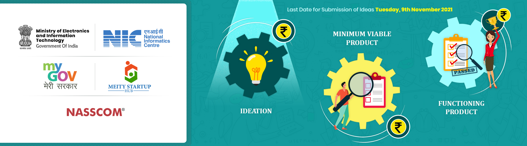 Ministry of Electornics & Information Technology, NIC, MyGov, MeitY Startup Hub, NASSCOM collaborate to invite Startups